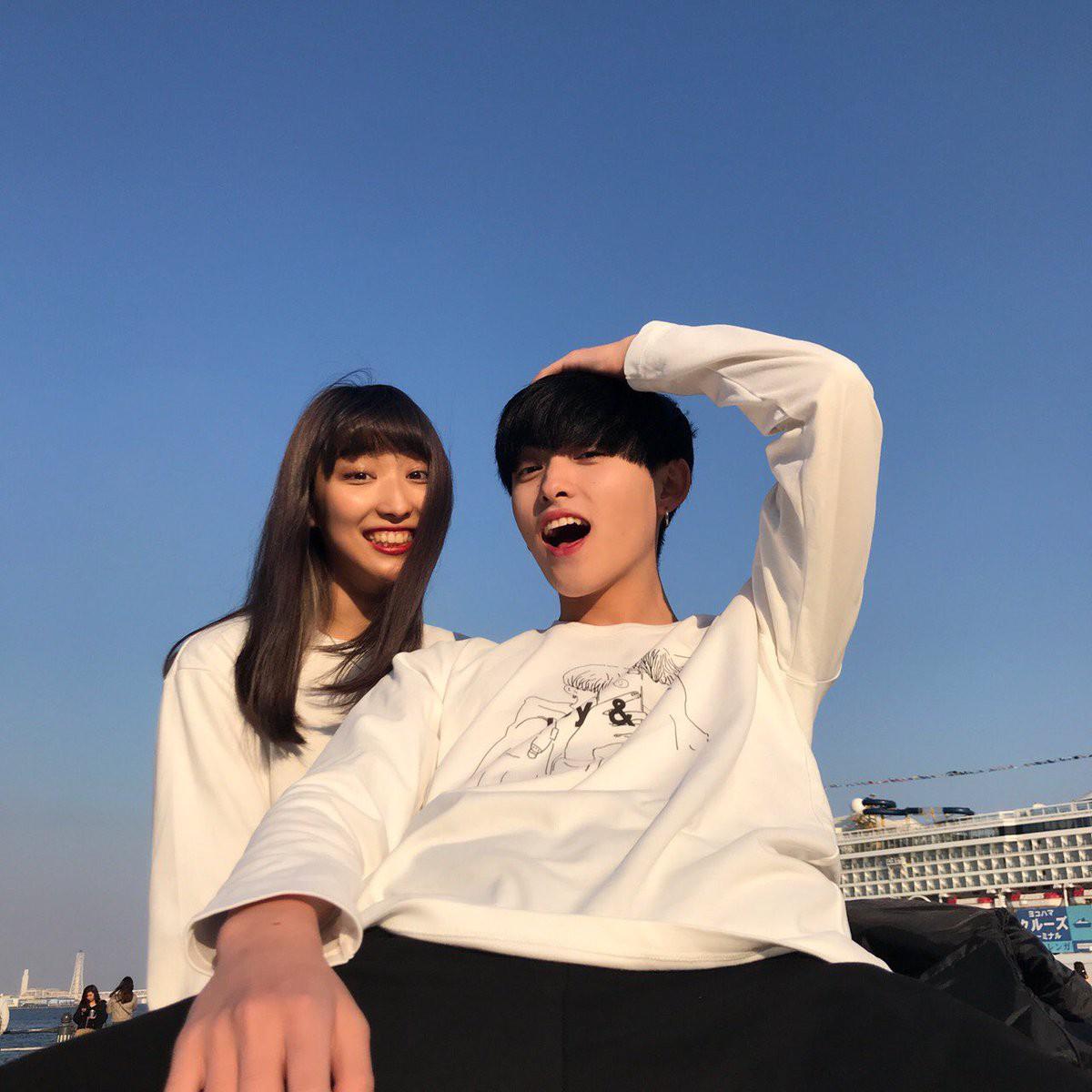 Cặp đôi chị ơi, anh yêu em Nhật Bản khiến dân tình phát sốt vì đã đẹp đôi lại còn đáng yêu - Ảnh 3.