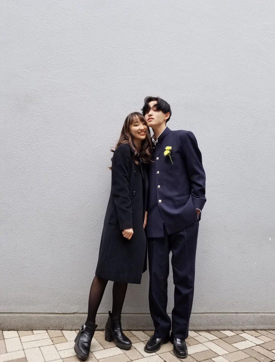 Cặp đôi chị ơi, anh yêu em Nhật Bản khiến dân tình phát sốt vì đã đẹp đôi lại còn đáng yêu - Ảnh 8.