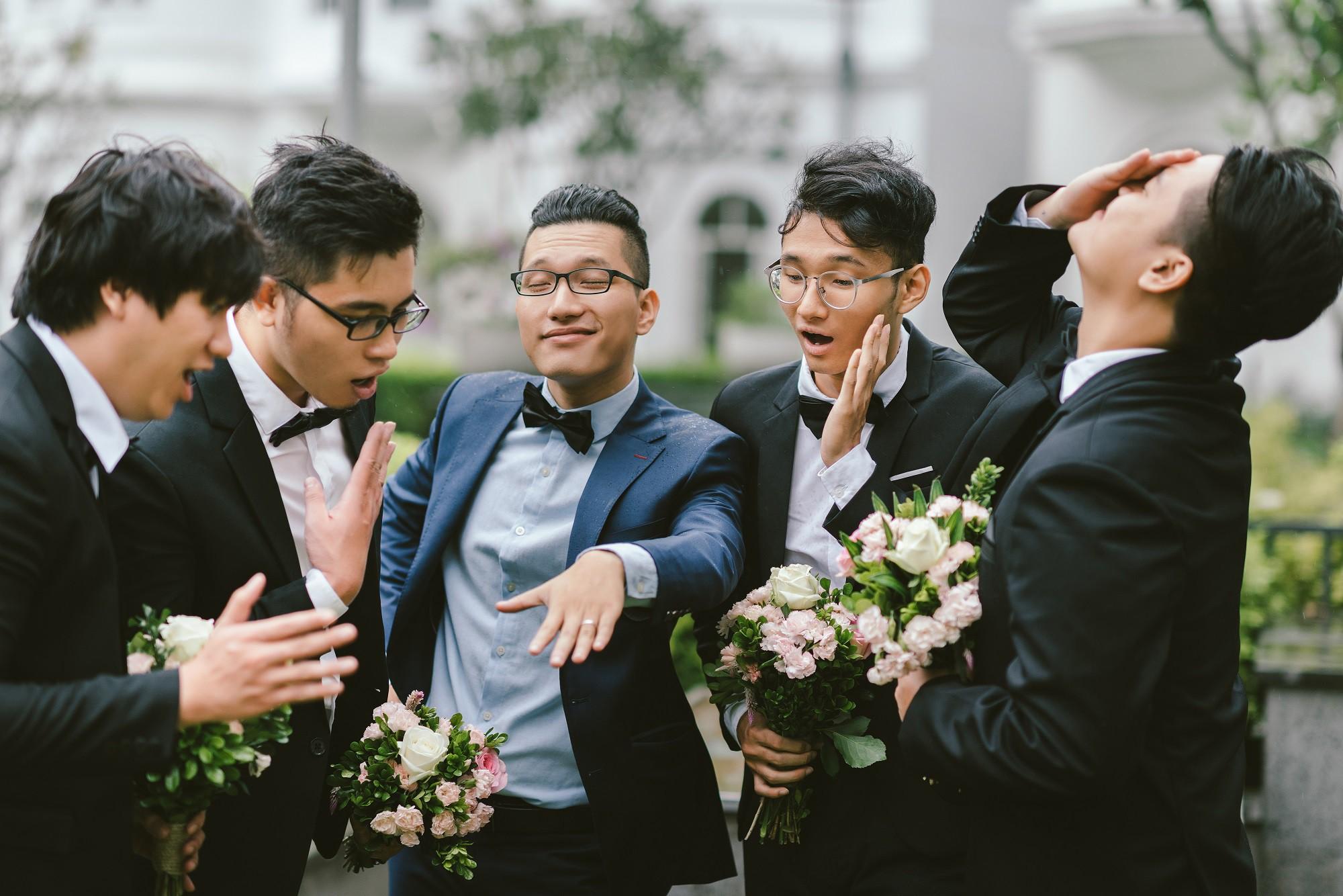 Em gái Trấn Thành kết hôn với bạn trai Hồng Kông, tung bộ ảnh cưới nhắng nhít cùng hội bạn thân - Ảnh 10.