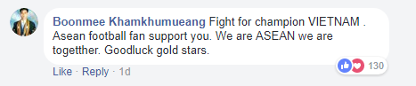 Dù còn gần ngày mới tới bán kết, người hâm mộ khắp châu Á đã gửi lời động viên tới đội tuyển U23 Việt Nam - Ảnh 4.