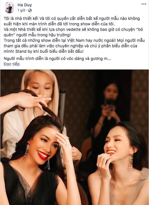 Từ tiếc nuối, NTK Hà Duy bất ngờ quay lại tố ngược Hương Giang thiếu chuyên nghiệp - Ảnh 3.
