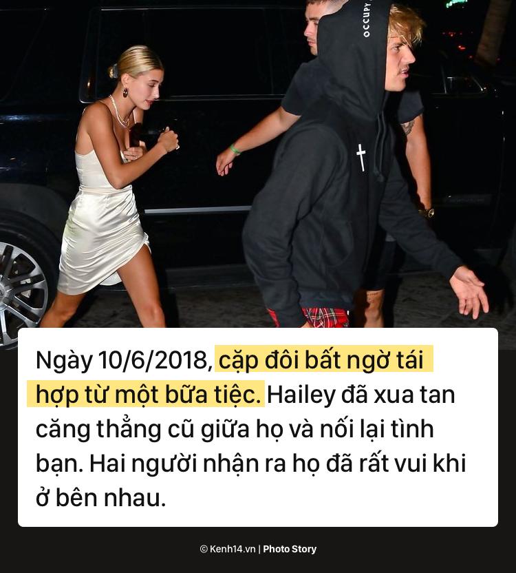 Nhìn lại chặng đường yêu đương thăng trầm của cặp đôi Justin Bieber và Hailey Baldwin - Ảnh 15.