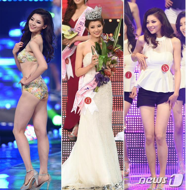 """Trớ trêu các cuộc thi sắc đẹp Hàn Quốc: Hoa hậu bị """"kẻ ngoài cuộc"""" lấn át nhan sắc ngay trong đêm đăng quang! - Ảnh 26."""