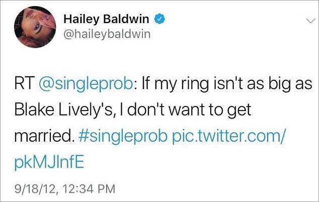 Hailey Baldwin có nhẫn đính hôn giống Blake Lively nhưng giá thì khác xa - Ảnh 5.
