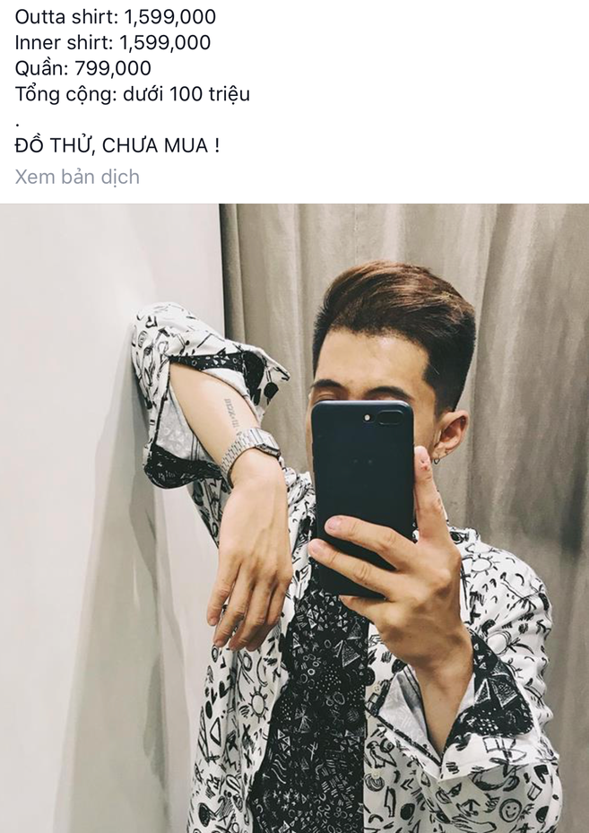 """Rich Kid Việt """"bóc giá"""" outfit, dân mạng thi nhau chia sẻ giá quần áo- Ảnh 1."""