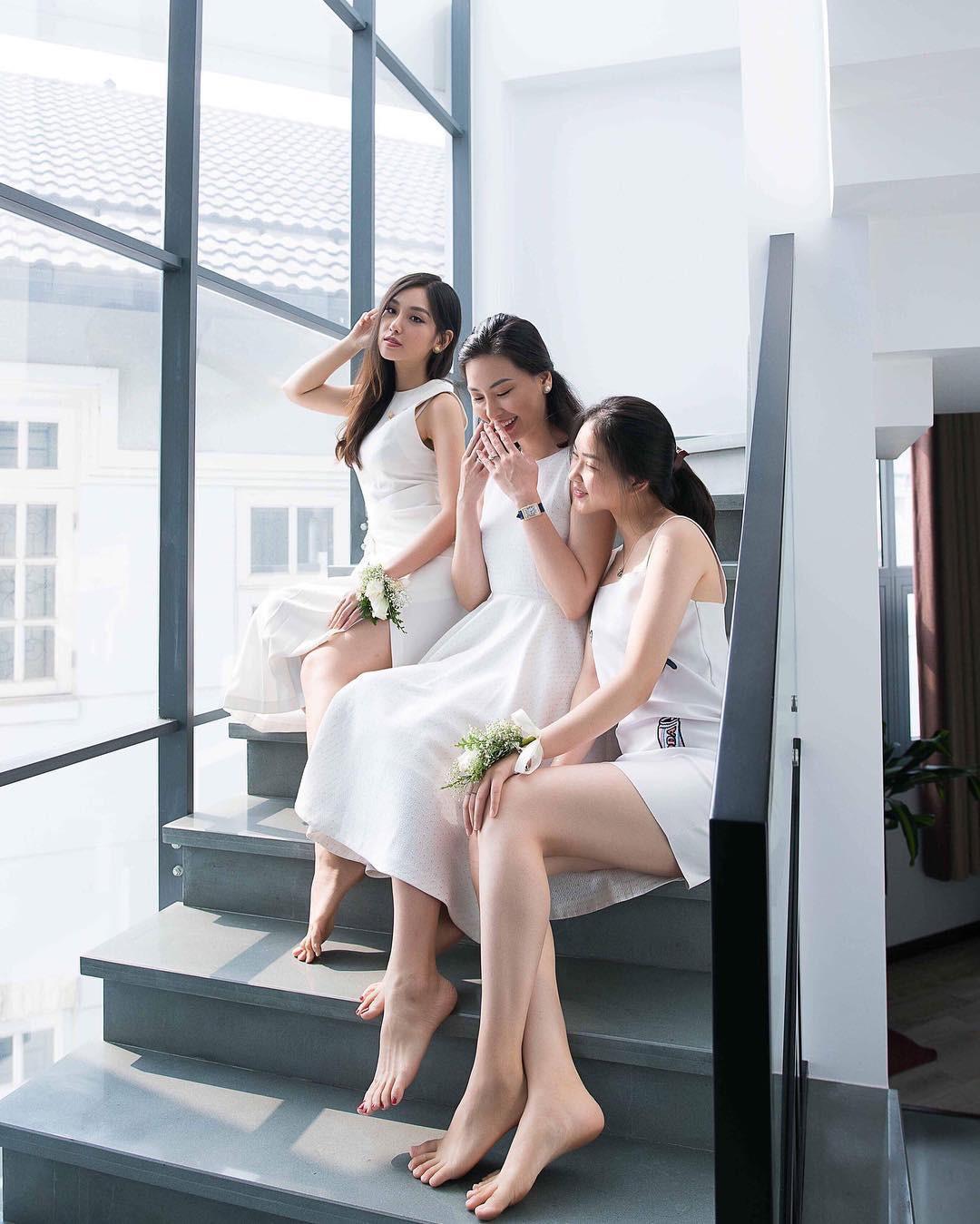 Nhà có 3 nàng tiên phiên bản đời thực: Ai cũng xinh đẹp, dáng chuẩn và cùng thi hoa hậu - Ảnh 4.