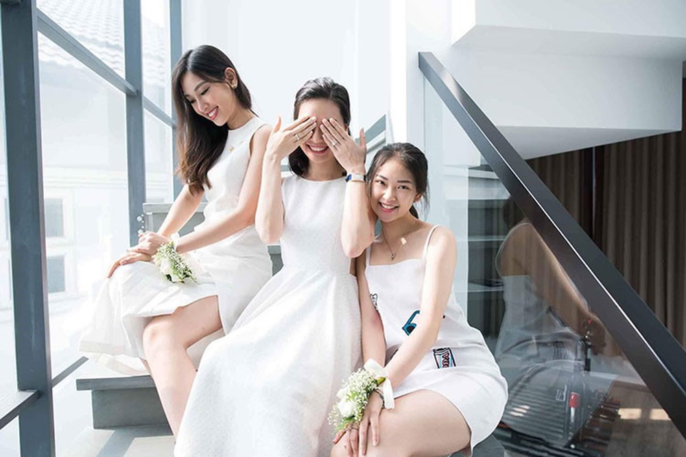 Nhà có 3 nàng tiên phiên bản đời thực: Ai cũng xinh đẹp, dáng chuẩn và cùng thi hoa hậu - Ảnh 9.