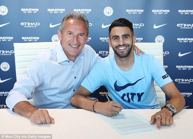 Man City phá kỷ lục chuyển nhượng, mua Riyah Mahrez giá 60 triệu bảng - Ảnh 2.