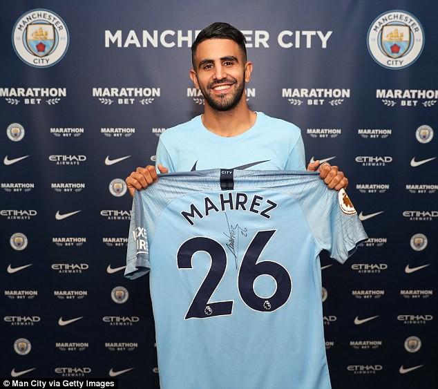 Man City phá kỷ lục chuyển nhượng, mua Riyah Mahrez giá 60 triệu bảng - Ảnh 1.