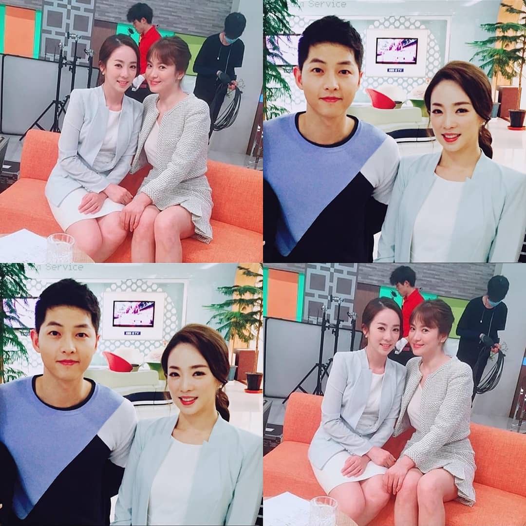 Chuyện 3 năm rồi mới kể: Lộ bằng chứng Song Joong Ki tán tỉnh Song Hye Kyo từ thời quay Hậu duệ mặt trời - Ảnh 1.