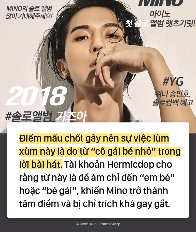 Sự thật đằng sau nghi vấn lời bài hát mang khuynh hướng ấu dâm của Mino (WINNER) - Ảnh 11.