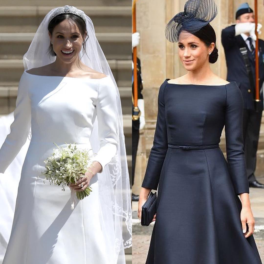 Ai cũng muốn như Meghan Markle: thích kiểu váy nào là mua mỗi hãng một chiếc, lại toàn là hãng cao cấp - Ảnh 4.