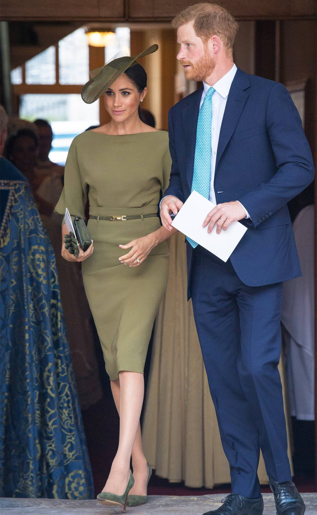 Ai cũng muốn như Meghan Markle: thích kiểu váy nào là mua mỗi hãng một chiếc, lại toàn là hãng cao cấp - Ảnh 5.