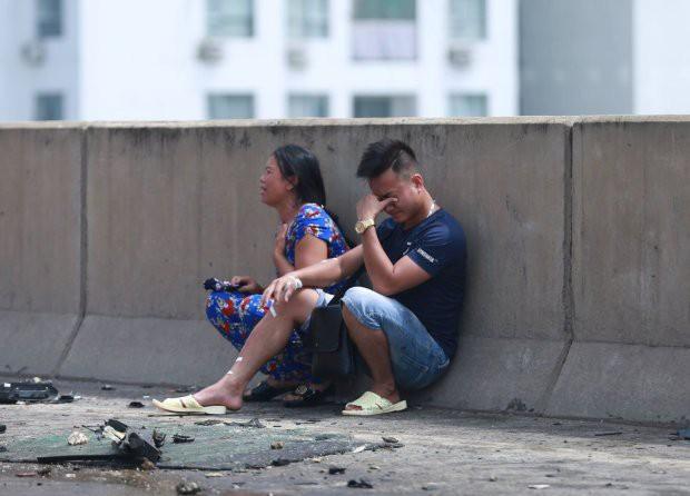Hà Nội: Vụ cháy xe khách khiến thai phụ 6 tháng tử vong - Ảnh 2.
