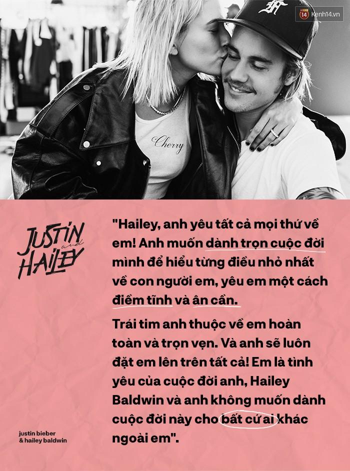Justin Bieber - Hailey Baldwin: Bão đã dừng sau cánh cửa để đón hạnh phúc nhỏ cho chàng Don Juan - Ảnh 12.