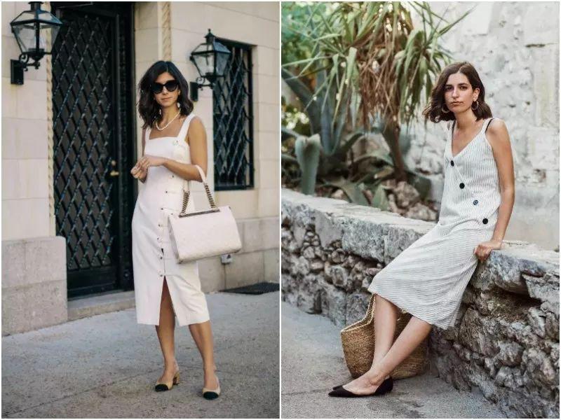 Sau cơn sốt váy trắng Zara, loạt váy liền cài khuy trước với đủ kiểu dáng đang đốn tim các nàng - Ảnh 14.