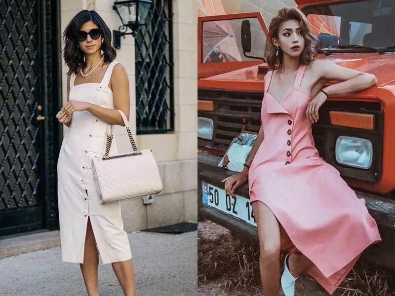 Sau cơn sốt váy trắng Zara, loạt váy liền cài khuy trước với đủ kiểu dáng đang đốn tim các nàng - Ảnh 15.