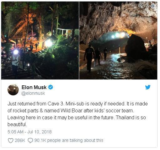 """Elon Musk nghi ngờ chuyên môn của chỉ huy chiến dịch giải cứu đội bóng nhí Thái Lan, sau khi tàu ngầm mini của SpaceX bị chê """"không thực tế"""" - Ảnh 3."""