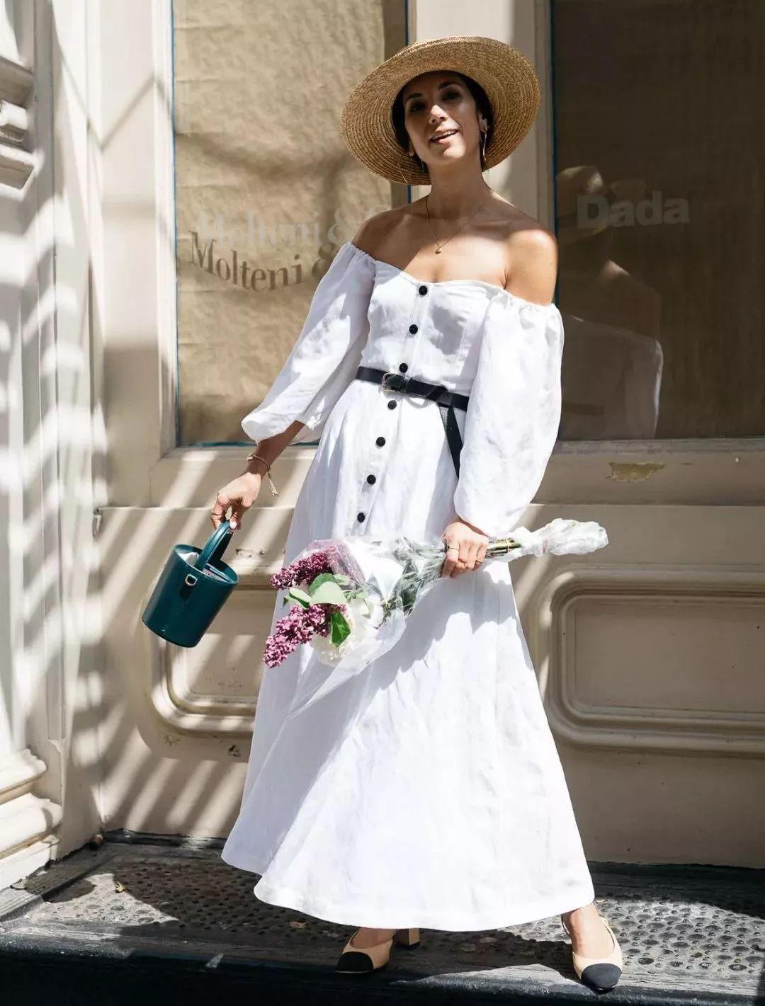 Sau cơn sốt váy trắng Zara, loạt váy liền cài khuy trước với đủ kiểu dáng đang đốn tim các nàng - Ảnh 8.