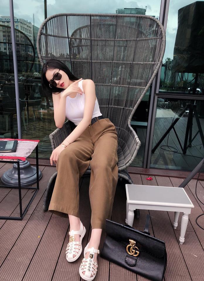 Bảo Anh diện váy hè không ngại vén cao táo bạo, Hà Hồ nghi án thả rông với áo ôm sát gợi cảm - Ảnh 5.