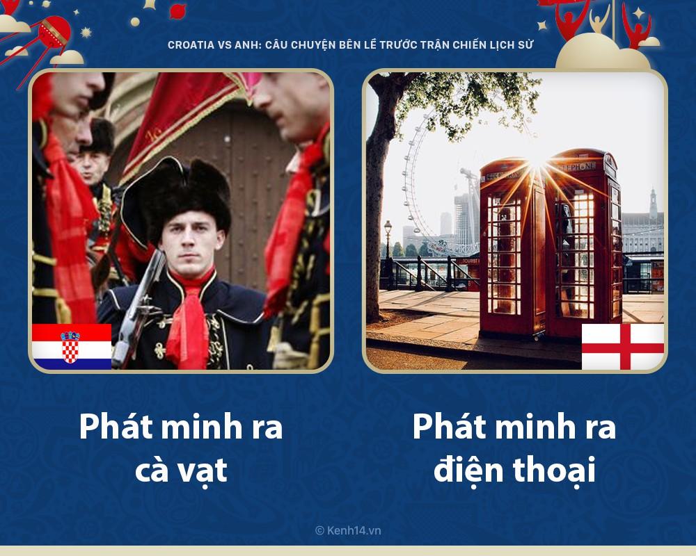 Croatia vs Anh: Những câu chuyện bên lề trước trận chiến lịch sử diễn ra như thế nào? - Ảnh 2.