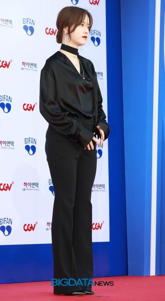 Bỗng phát tướng và liên tục che bụng, Goo Hye Sun bị nghi mang thai con đầu lòng với Ahn Jae Hyun - Ảnh 4.