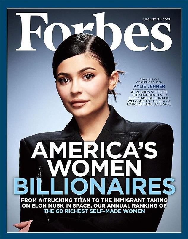 Kylie sắp soán ngôi Mark Zuckerberg để thành tỷ phú trẻ nhất, nhưng gây tranh cãi vì danh hiệu Forbes phong cho - Ảnh 1.