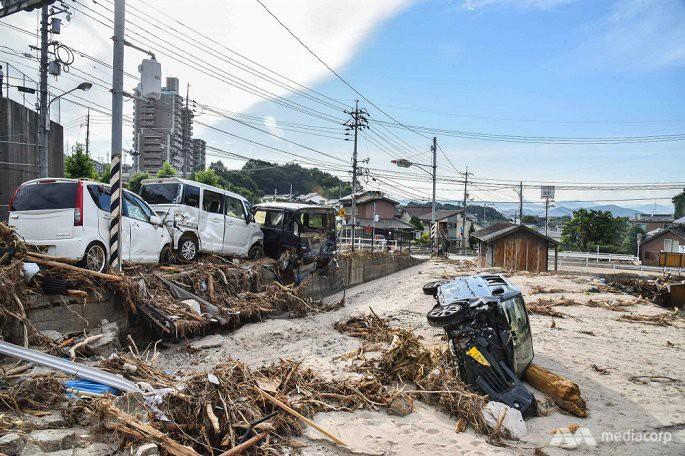 Số người chết trong mưa lũ Nhật Bản tăng lên 199, hàng chục người vẫn mất tích - Ảnh 2.