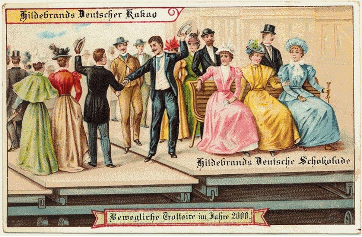 Năm 1900 người ta đã từng mơ tưởng về thế giới tương lai của năm 2000 ảo diệu đến thế này - Ảnh 3.
