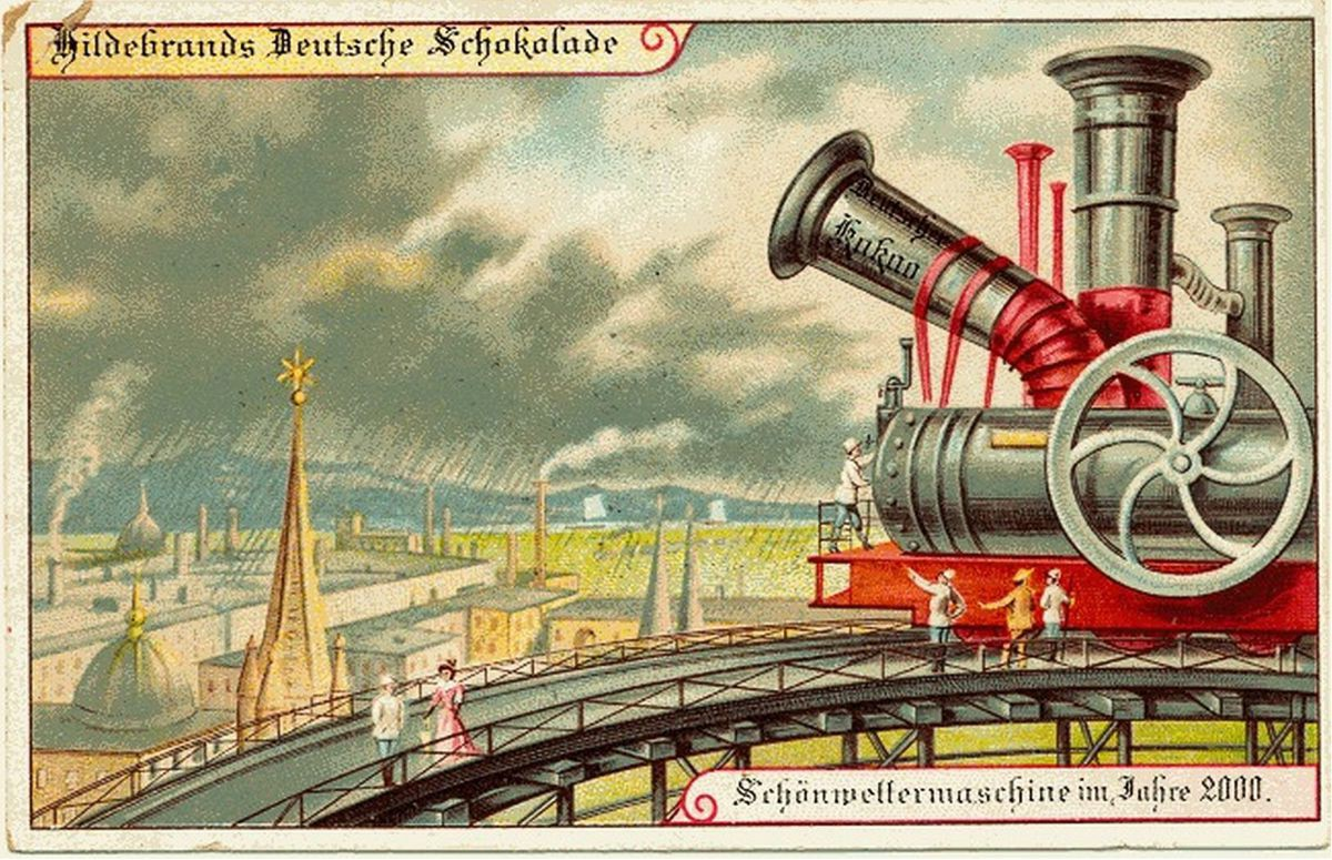 Năm 1900 người ta đã từng mơ tưởng về thế giới tương lai của năm 2000 ảo diệu đến thế này - Ảnh 6.