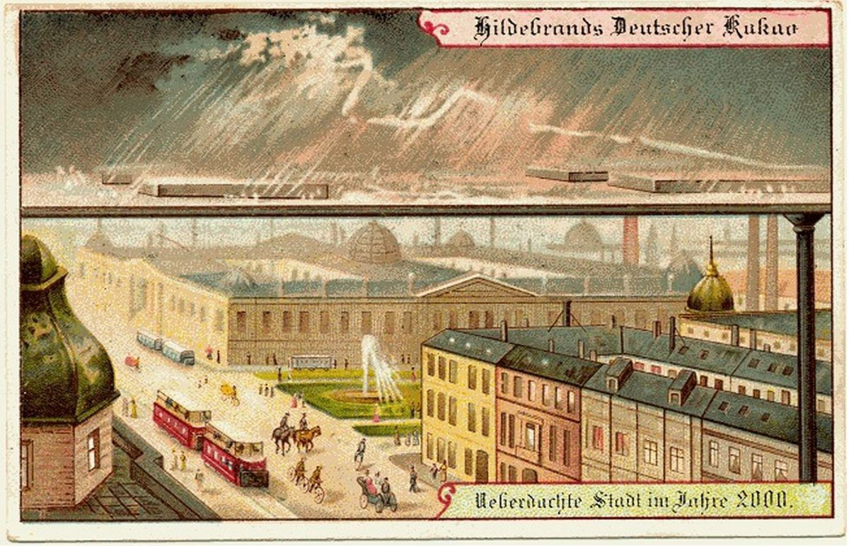 Năm 1900 người ta đã từng mơ tưởng về thế giới tương lai của năm 2000 ảo diệu đến thế này - Ảnh 10.