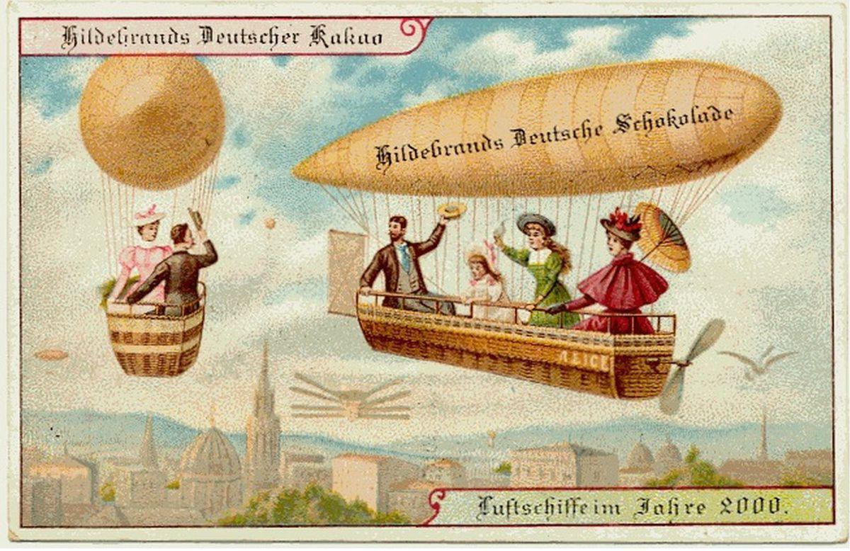 Năm 1900 người ta đã từng mơ tưởng về thế giới tương lai của năm 2000 ảo diệu đến thế này - Ảnh 11.