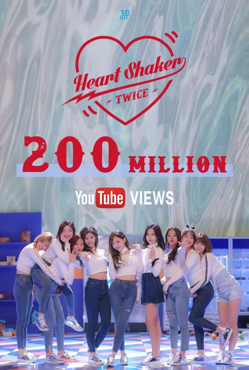 TWICE vượt Black Pink, trở thành girlgroup có nhiều MV đạt 200 triệu view nhất YouTube - Ảnh 3.