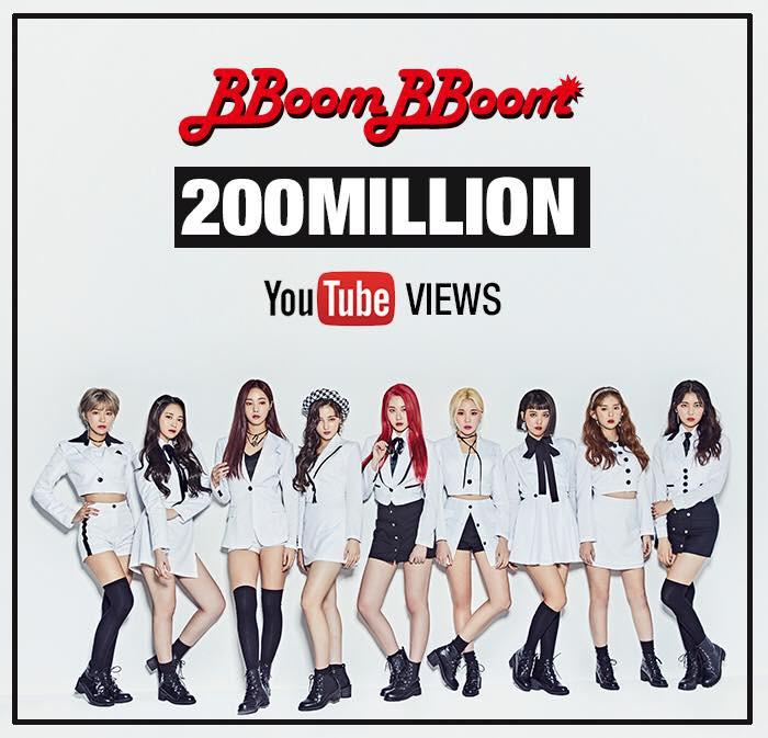 BBoom BBoom của MOMOLAND chính thức cán mốc 200 triệu view - Ảnh 3.