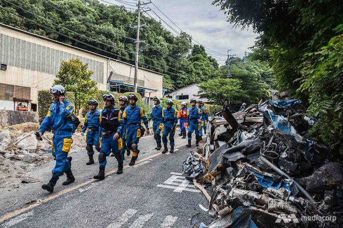 Số người chết trong mưa lũ Nhật Bản tăng lên 199, hàng chục người vẫn mất tích - Ảnh 4.