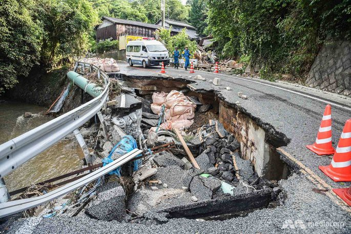 Số người chết trong mưa lũ Nhật Bản tăng lên 199, hàng chục người vẫn mất tích - Ảnh 5.