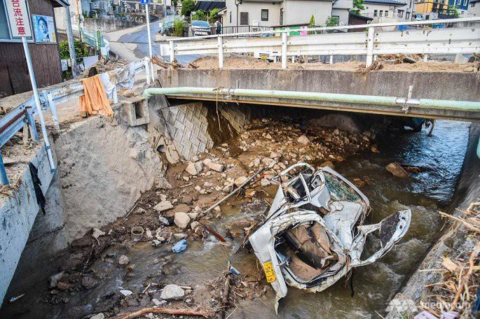 Số người chết trong mưa lũ Nhật Bản tăng lên 199, hàng chục người vẫn mất tích - Ảnh 8.