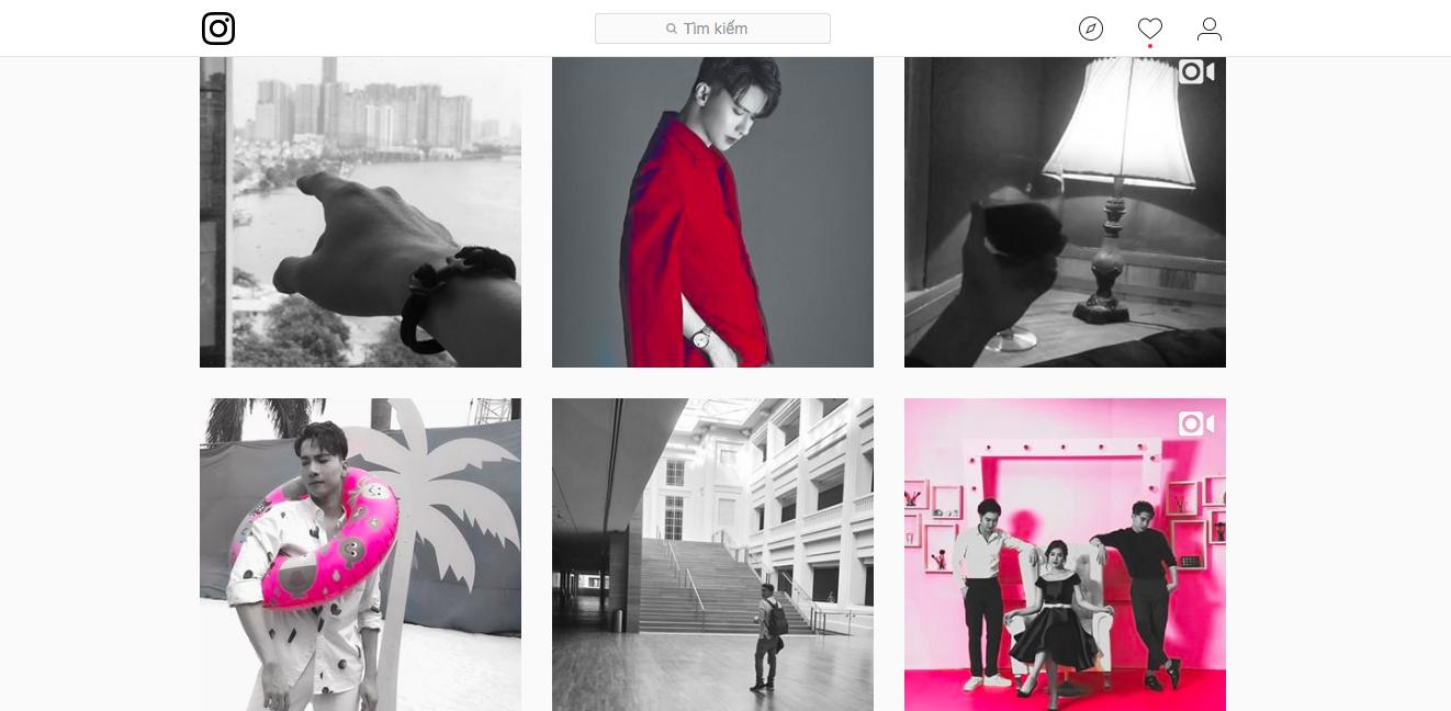 Dùng instagram như S.T (365): Toàn đen trắng, và đỏ - Ảnh 3.