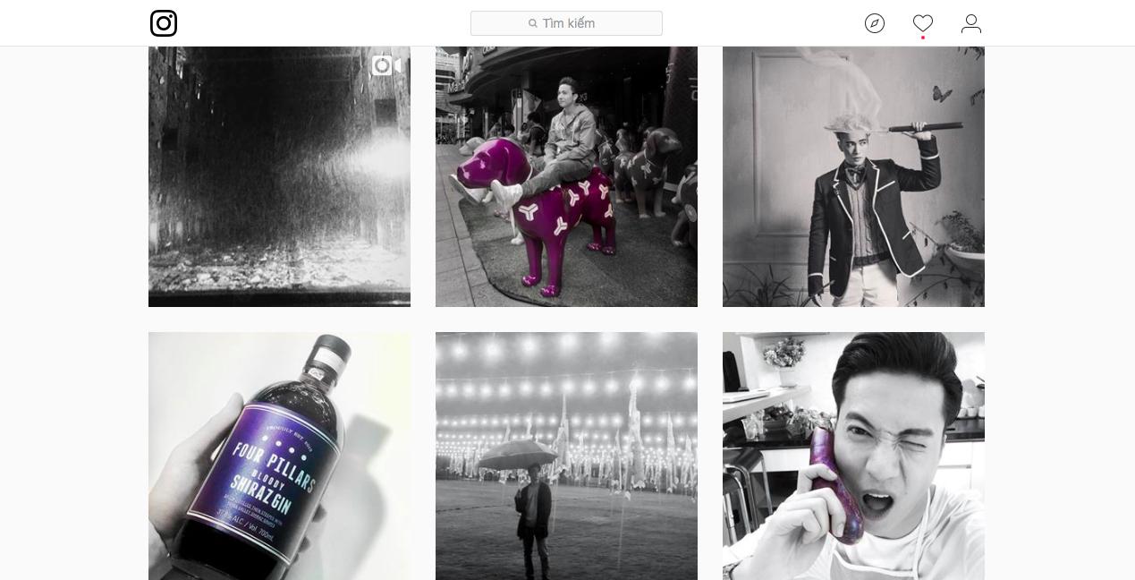 Dùng instagram như S.T (365): Toàn đen trắng, và đỏ - Ảnh 5.