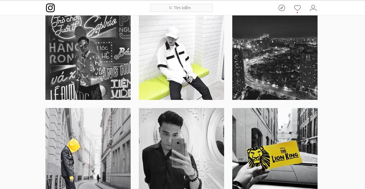 Dùng instagram như S.T (365): Toàn đen trắng, và đỏ - Ảnh 9.