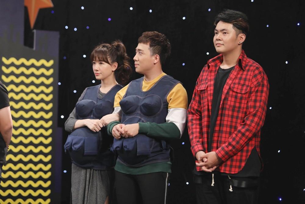 Khi đàn ông mang bầu: Trấn Thành - Hari Won chiến thắng khi sáng tác và hát ca khúc của riêng mình - Ảnh 4.