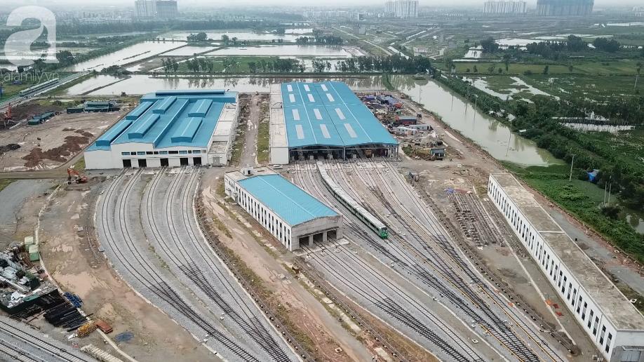 Tàu điện tuyến Cát Linh - Hà Đông chính thức đóng điện lưới Quốc Gia để chạy thử - Ảnh 5.