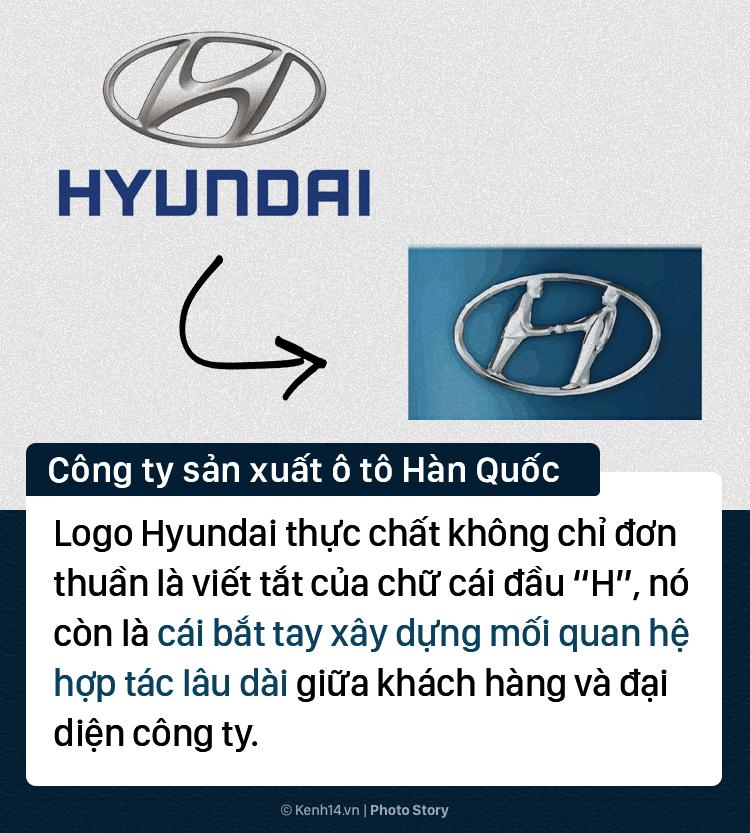 Điều đặc biệt có thể bạn chưa biết về các logo thương hiệu nổi tiếng thế giới - Ảnh 1.