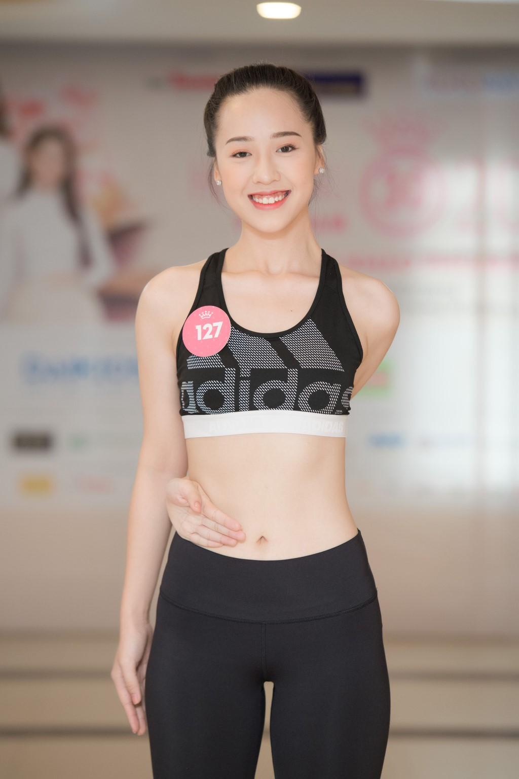 Dàn thí sinh Hoa hậu Việt Nam 2018 phía Bắc khoe eo thon, ráo riết tập luyện cho đêm Chung khảo - Ảnh 6.