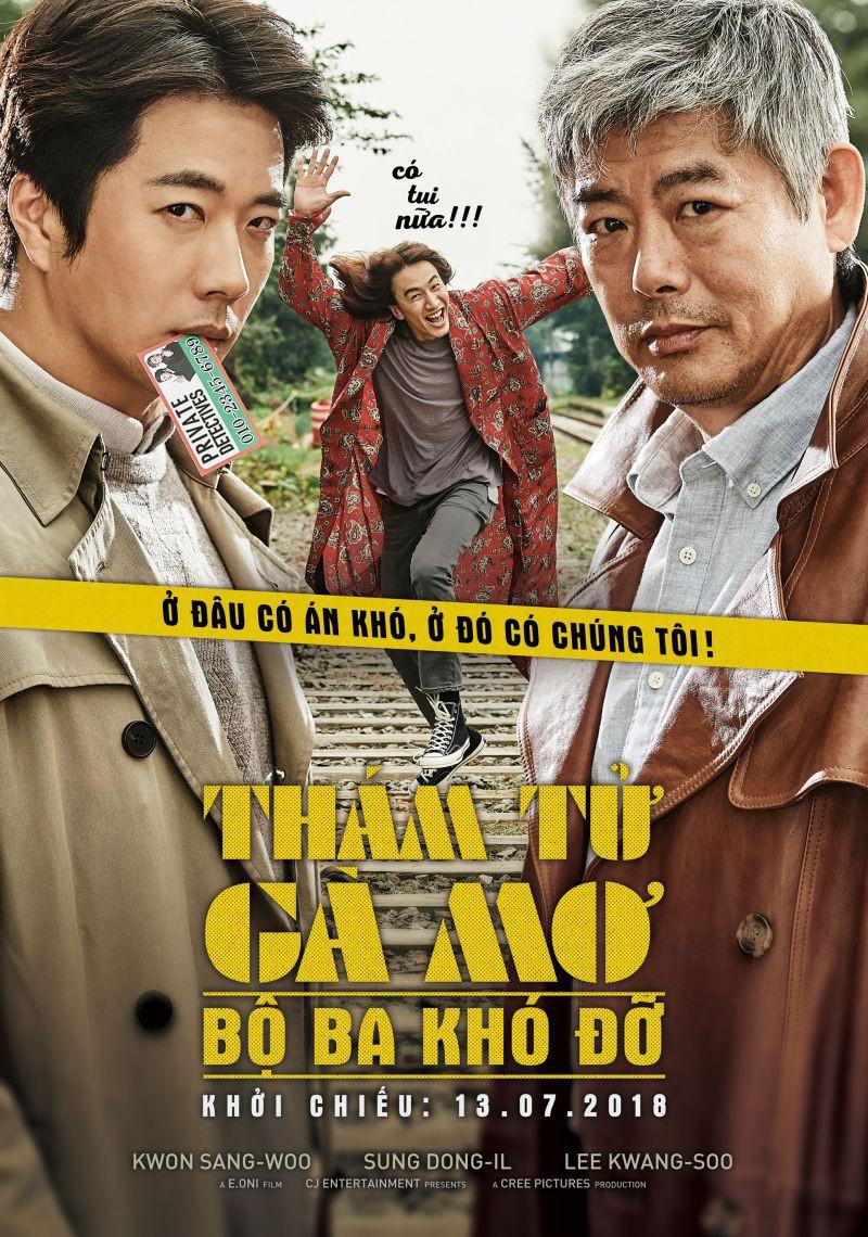"""""""Thám Tử Gà Mơ 2"""": Bộ đôi thám tử lầy lội đã trở lại và """"ăn hại"""" hơn xưa cùng Lee Kwang Soo - Ảnh 1."""