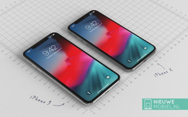 Chiêm ngưỡng ảnh dựng iPhone 9 solo với iPhone X 2018: Đẹp xuất sắc miễn chê! - Ảnh 1.