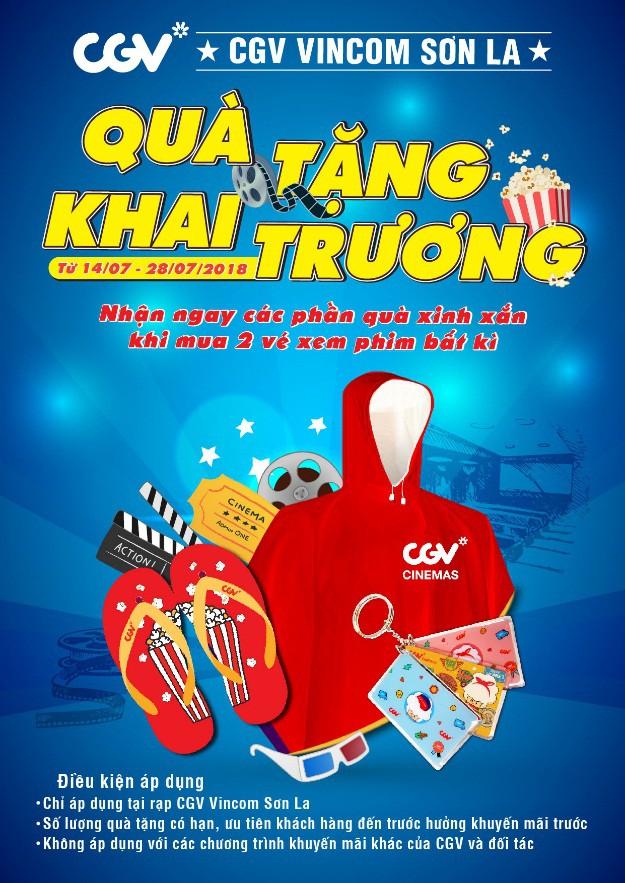 CGV khai trương cụm rạp chiếu phim đầu tiên tại Sơn La - Ảnh 3.