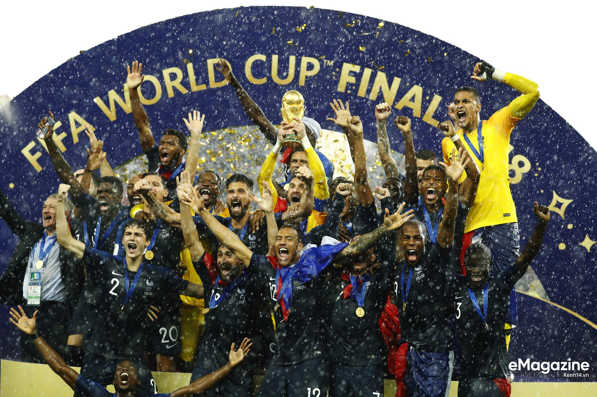 Vô địch World Cup 2018, khởi đầu cho kỷ nguyên vàng nước Pháp - Ảnh 18.