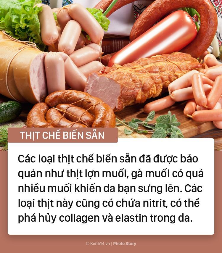 Những thực phẩm yêu thích của chị em nhưng lại tiềm ẩn nhiều nguy cơ gây hại cho làn da - Ảnh 4.