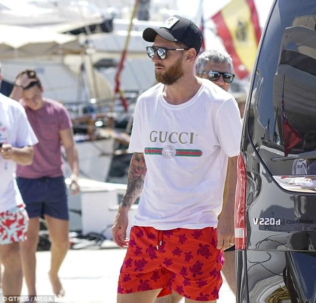 Messi hạnh phúc bên vợ con sau World Cup 2018 - Ảnh 5.